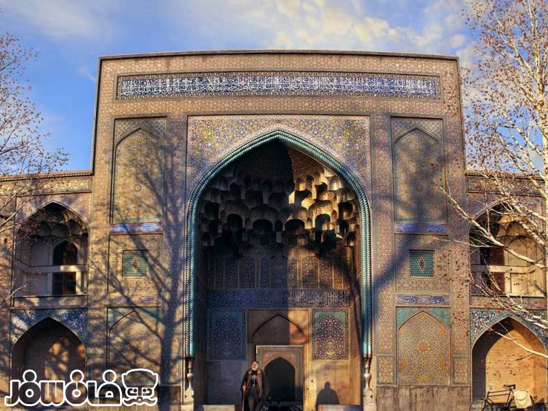 مدرسه چهار باغ یکی از بناهای تاریخی شهر زیبای اصفهان
