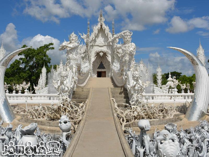 معبد سفید وات رونگ خون درتایلند