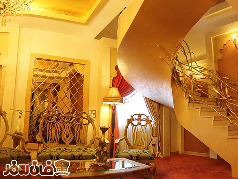 آشنایی با اتاق های هتل درویشی مشهد