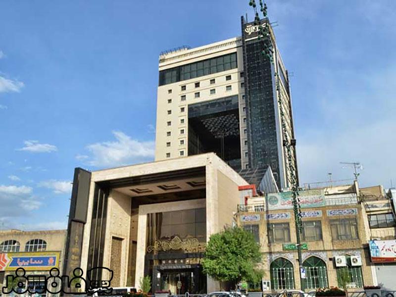 هتل های پنج ستاره مشهد | Mashhad five star hotels