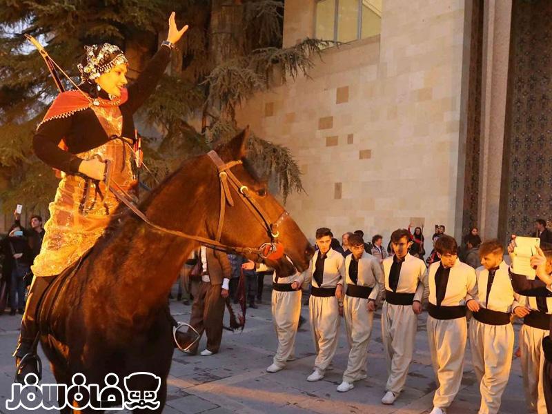 آیین جشنواره انار در کاخ موزه نیاوران | Pomegranate Festival