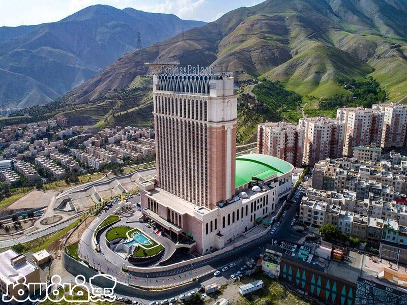 اسکای سوئیت هتل اسپیناس پالاس تهران | سوئیت های آسمان هتل اسپیناس