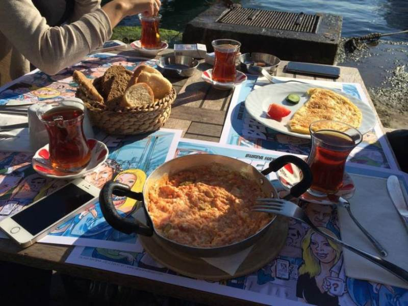 با رستورانهای برتر محله گالاتا در استانبول آشنا شوید خان سفر غزال پرواز khansafar ghazalparvaz