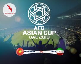 تور 5 روزه ویژه جام ملت های آسیا 2019 ایران ویتنام با پرواز ایر عربیا
