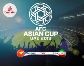 تور 4 روزه ویژه جام ملت های آسیا 2019 ایران ویتنام با پروازلوکس امارات