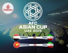 تور 8 روزه ویژه جام ملت های آسیا 2019 ایران یمن و ایران ویتنام با پروازلوکس امارات