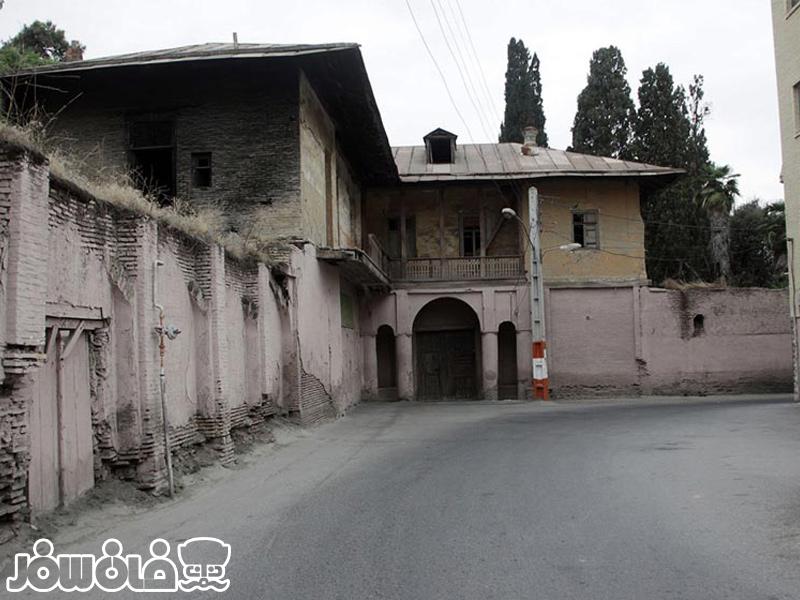 باغ روسها عمارت قدیمی جذاب در شهر زیبای گرگان