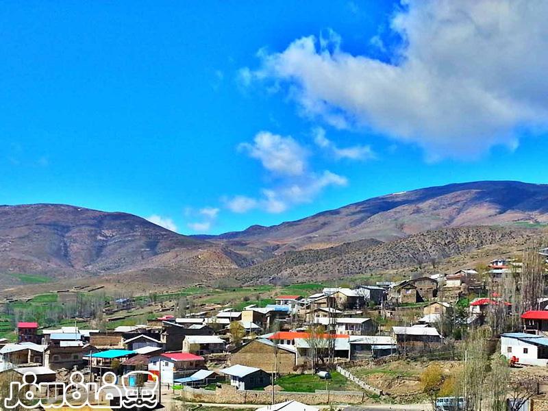 روستای اروست پدیدهای طبیعی در یک منطقه ییلاقی