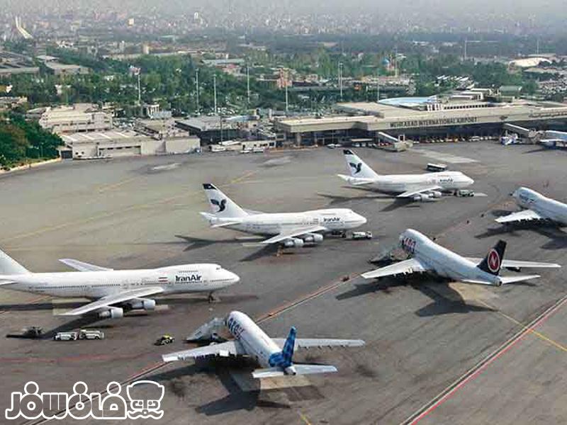 مشخصات فرودگاه های ایران