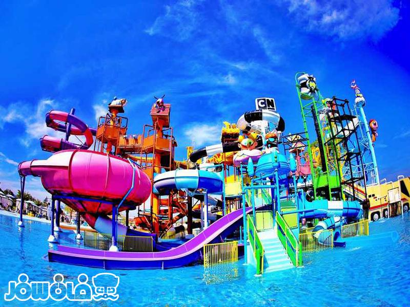 تفریحات دریایی هتل مارینا پارک کیش