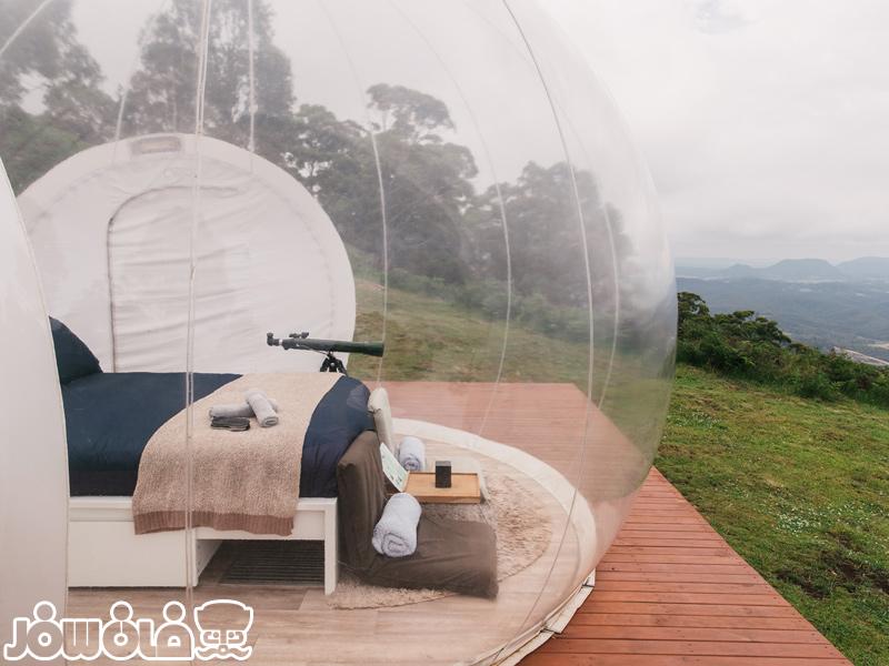 هتل حبابی استرالیا