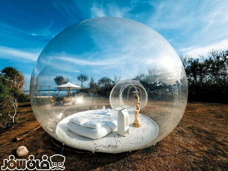هتل حبابی اندونزی