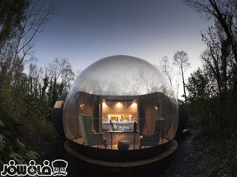 باهتلهای حبابی جهان آشنا شوید | Bubble Hotel