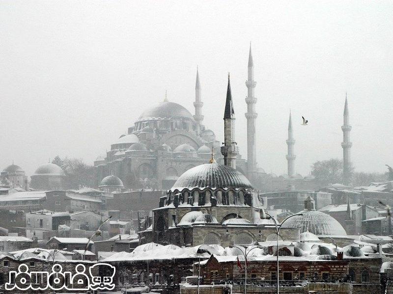 استانبول در فصل زمستان