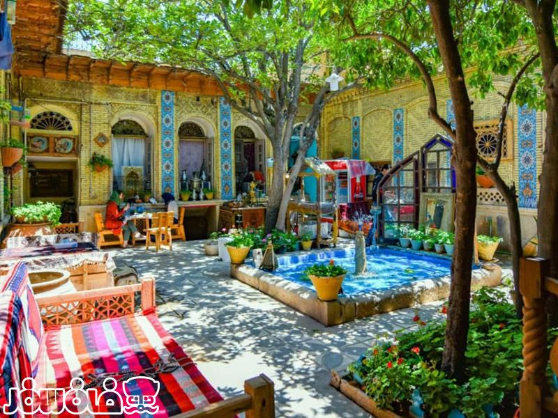 خانه سنتی سرای بازار وکیل شیراز