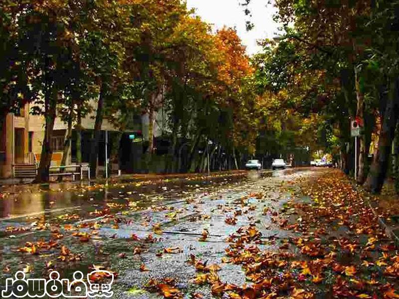 خیابان گردی تهران