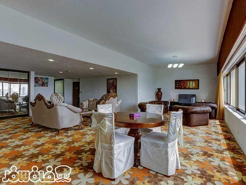 اتاقها و سوئیتهای هتل شایان کیش