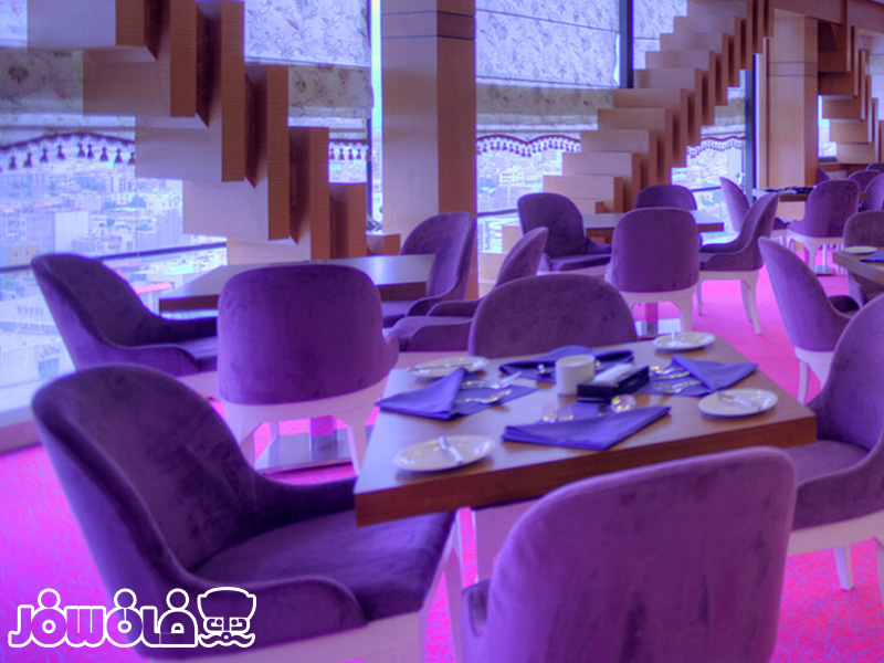 رستوران ارغوان هتل درویشی مشهد