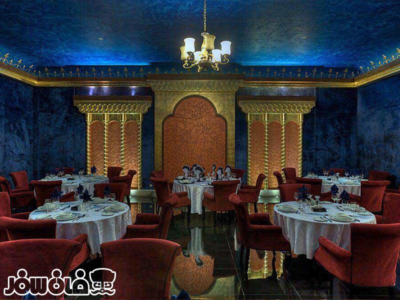 رستوران فست فود فیروزه هتل درویشی مشهد