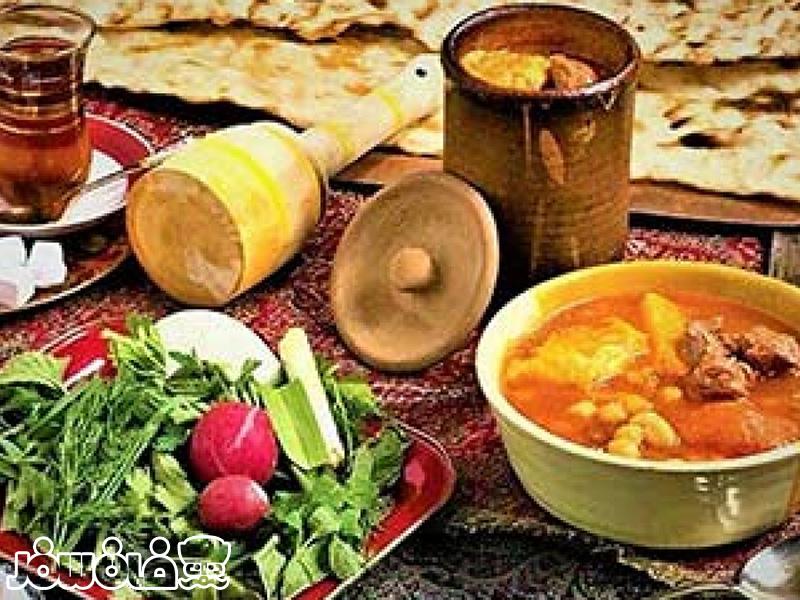 غذا محلی همدان