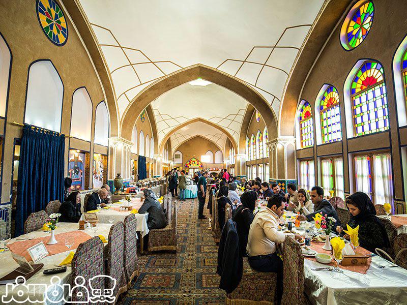 رستوران مشیر الممالک یزد