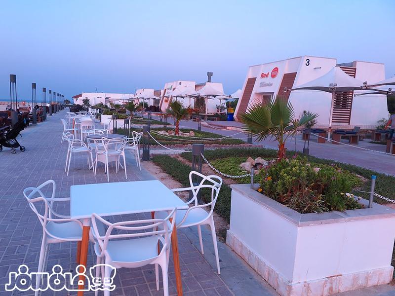 غرفه های ساحلی هتل مارینا پارک کیش