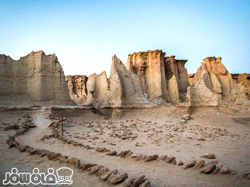 دره ستارگان قشم یکی از ترسناکترین جاهای ایران