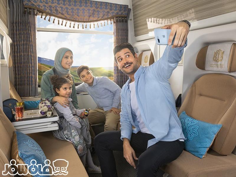 سفر با کودک در قطار