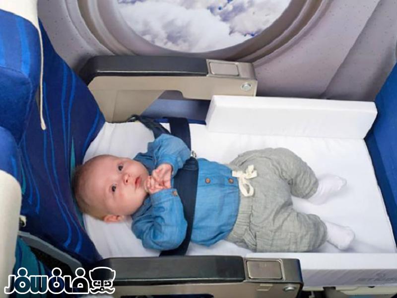 سفر با کودک در هواپیما