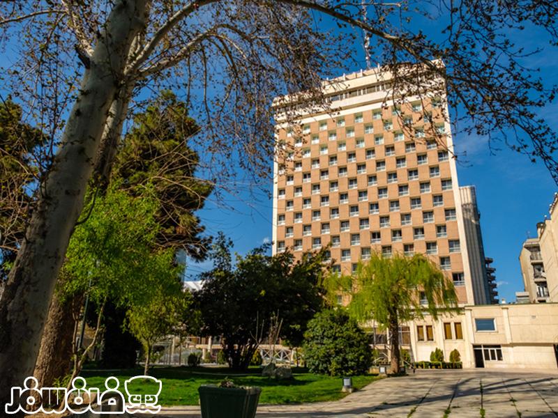 سالن های هتل هما تهران