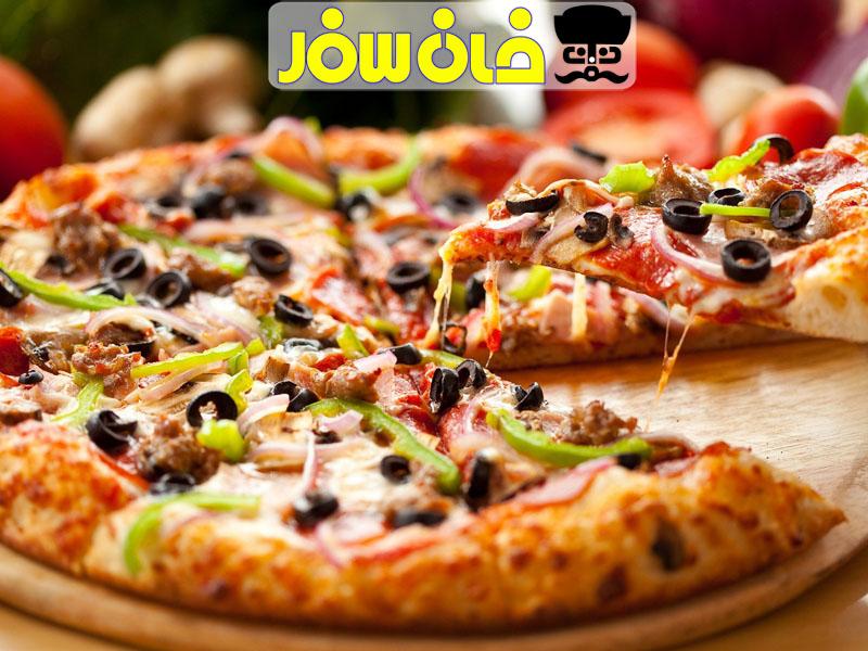 پیتزا-آژانس-مسافرتی-خان -سفر