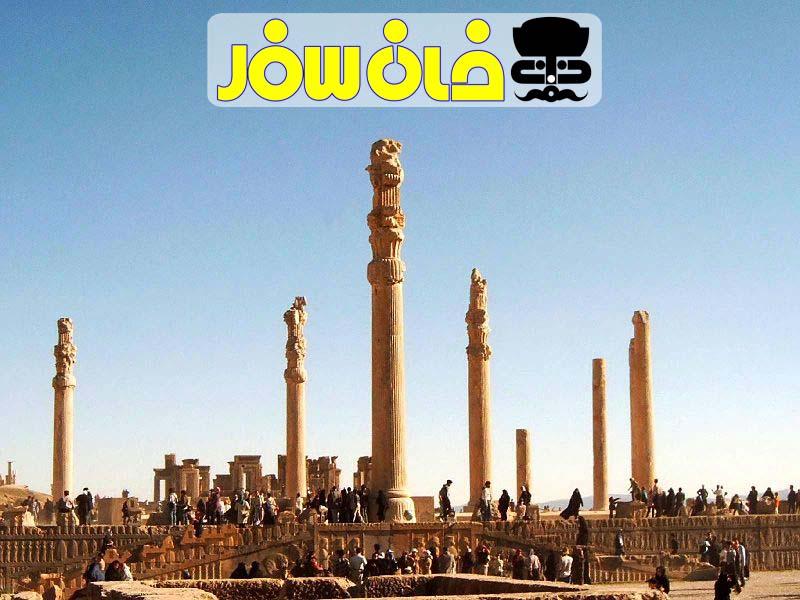 تخت جمشید ( Persepolis shiraz)